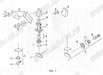 Рис.1. Оптическая схема микроскопа БИОЛАМ